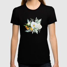 White Orchid Series: Orchid and Kumkwat T-shirt