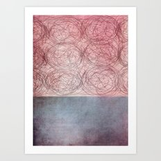 rosado Art Print