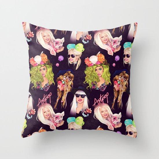 Creative Rebellion Throw Pillow