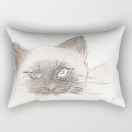 Unimpressed Rectangular Pillow