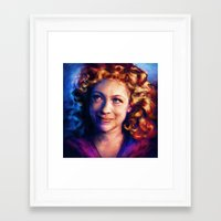 river song Framed Art Prints featuring River Song by Alice X. Zhang