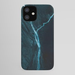 Void River – Minimalist Landscape Photography iPhone Case