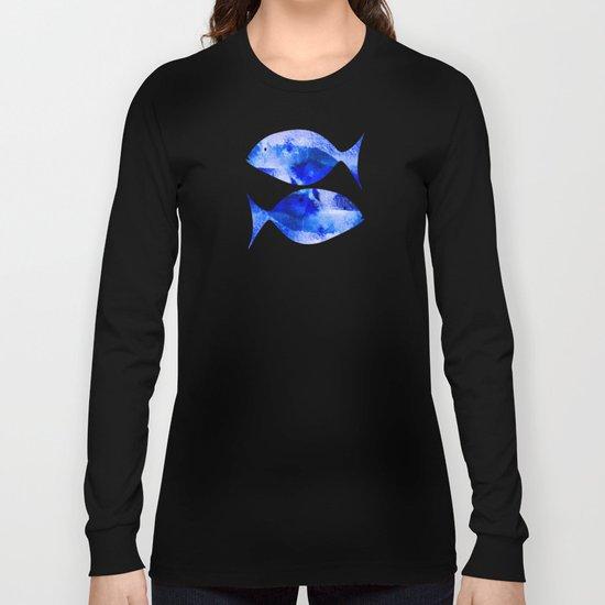 Zodiac Signs Pisces Long Sleeve T-shirt
