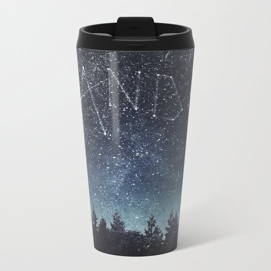 Its written in the stars Metal Travel Mug