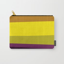 wild ethnic design Lines / exotico Carry-All Pouch