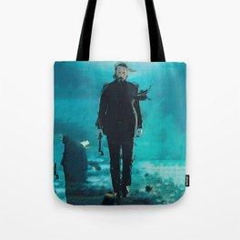 John Wick Abstract Art Tote Bag