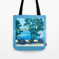 Of Boats and Summer Tote Bag