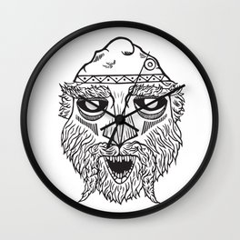 Dacian Rulers: Burebista Wall Clock