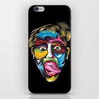 miley iPhone & iPod Skins featuring miley by Sneaker Pie