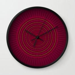 Ring of Bats Wall Clock