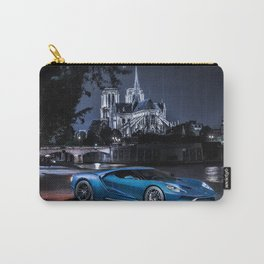 Exotic Ford GT Car Carry-All Pouch