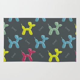 Dog balloon animal pattern Rug