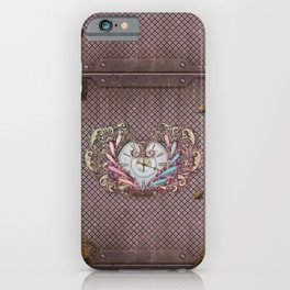 Noble steampunk heart iPhone Case