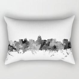 Madison Wisconsin Skyline Rectangular Pillow
