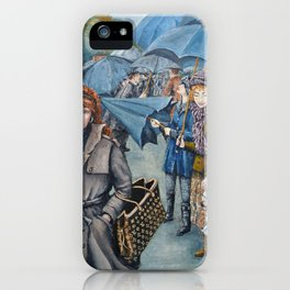 The Umbrellas iPhone Case
