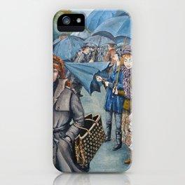 The Umbrellas iPhone Case