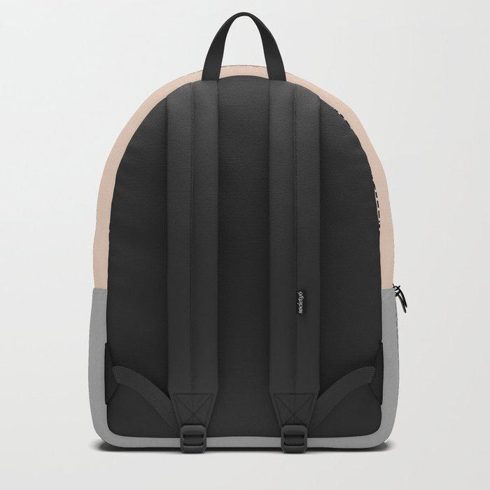 orange lines Backpack
