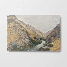 the Kern River .. Metal Print