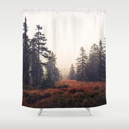 You Are Here Shower Curtain