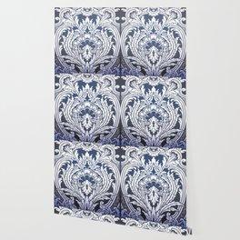 Baroque ornament Wallpaper