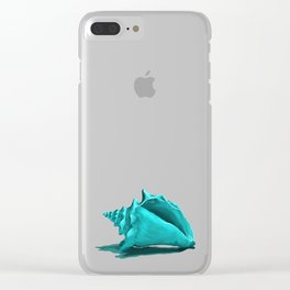 Aura the Seashell Clear iPhone Case