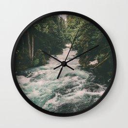 Mckenzie River Wall Clock