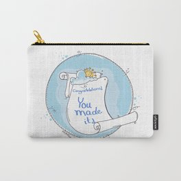Congratulation Illustration Carry-All Pouch