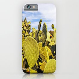 Fig tree in the countryside near the medieval white village of Ostuni iPhone Case