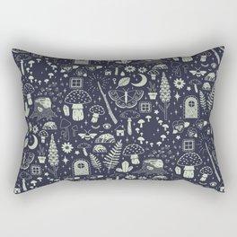 Fairy Garden: Midnight Rectangular Pillow