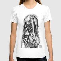 rebel T-shirts featuring Rebel by Paula Fazlich