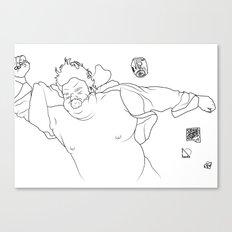 Dead Funny Canvas Print