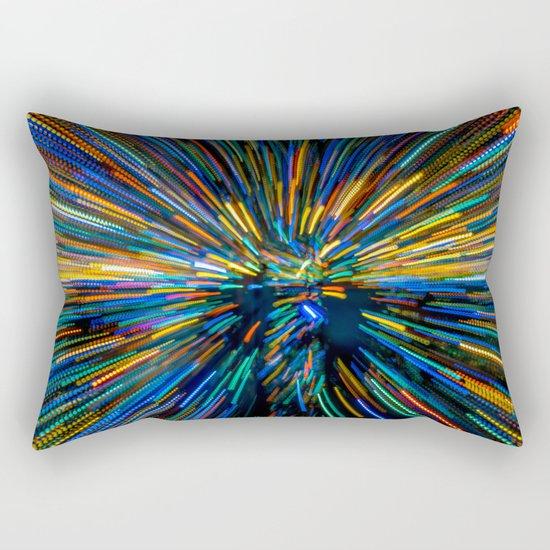 Explosion of Color Rectangular Pillow