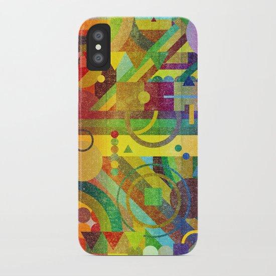 Future Patterns. iPhone Case
