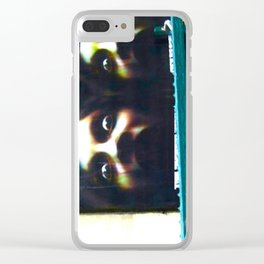 DON'T SLEEP IN THE SUBWAY! Clear iPhone Case