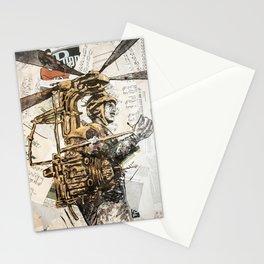 Flying maschine Stationery Cards