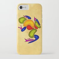 frog iPhone & iPod Cases featuring Frog by Aleksandra Mikolajczak