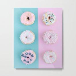 Pastel Donut Metal Print