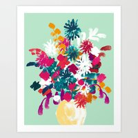 blush Art Prints featuring Blush by Picomodi