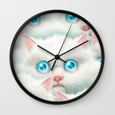 Kittehz II Wall Clock