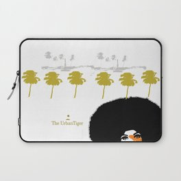 TUG TRUCK AND PALMS Laptop Sleeve