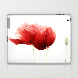 Poppy Poppies Mohn Mohnblume Laptop & iPad Skin