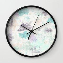 Emotional Color Bursts Wall Clock