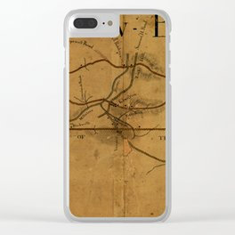 Trenton New Brunswick Turnpike 1800 Clear iPhone Case