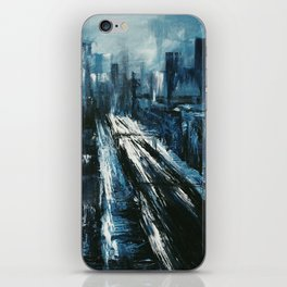 """Manhattan"" Painting iPhone Skin"