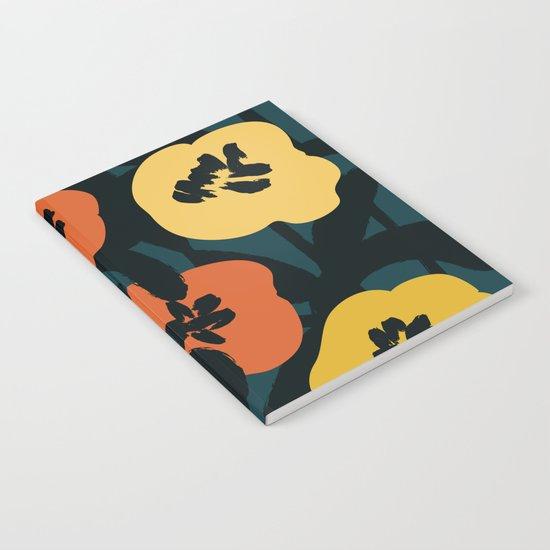 Midnight Flowers Notebook