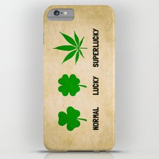 Cannabis / Hemp / Shamrock - Super Lucky mode iPhone 6 Plus Slim Case