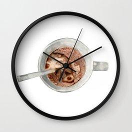 Breakfast mug Wall Clock