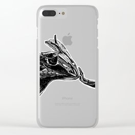 daytona dragon Clear iPhone Case