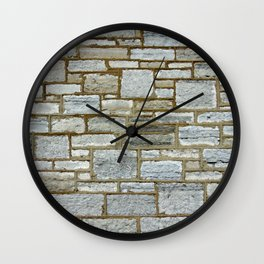 Another Stone In The Wall. Wall Clock