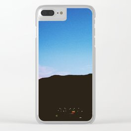 PASTEL SILHOUETTE Clear iPhone Case